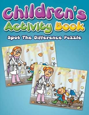 Children's Activity Book Spot the Difference Puzzle by Eva Delano