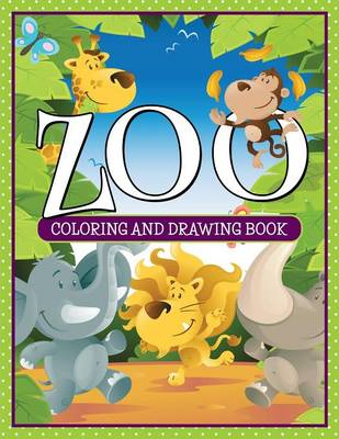 Zoo Coloring and Drawing Book by Marshall Koontz