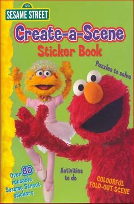 Sesame Street Create-a-scene by