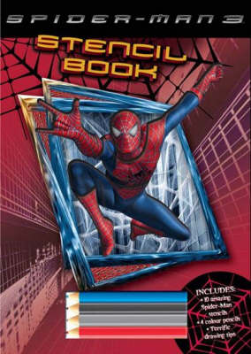 Spiderman 3 Stencil Activity Book by