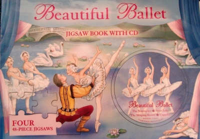 Beautiful Ballerinas Jigsaw Book by
