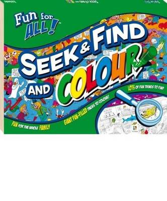 Seek And Find And Colour by