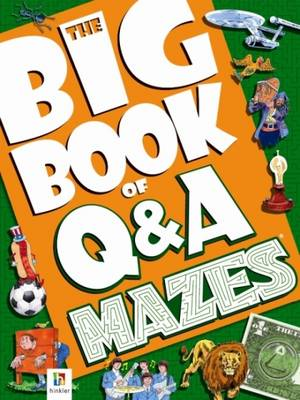 Big Book of Questions and Answers Mazes by