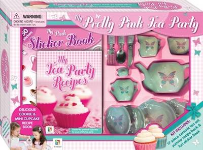 My Pretty Pink Tea Party by Books Hinkler