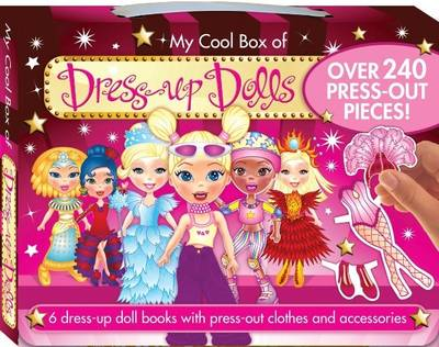 My Cool Box of Dress Up Dolls by Hinkler Books PTY Ltd