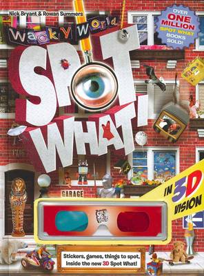 Spot What 3D Wacky World by