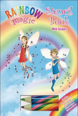 Rainbow Magic Stencil Book by