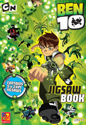 Ben 10 Jigsaw Book by