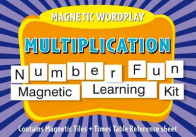 Magnetic Wordplay Multiplication by