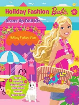 Barbie Holiday Fashion Dress Up Doll Kit by