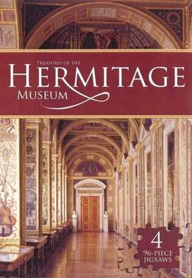 Treasures of the Hermitage Museum Deluxe Jigsaw Book by