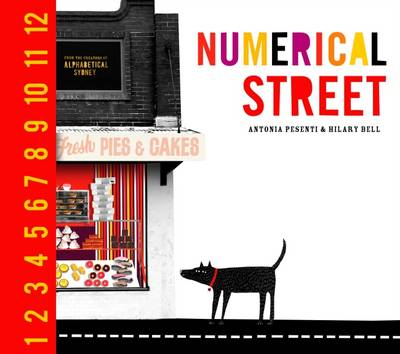 Numerical Street by Antonia Pesenti, Hilary Bell
