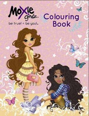 Moxie Girlz Colouring and Puzzle Book by