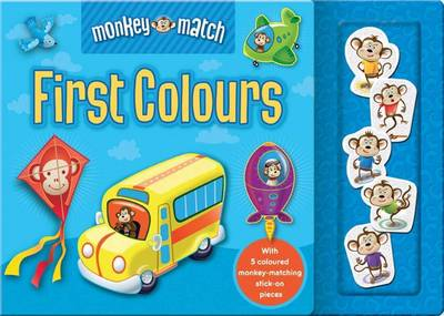 Monkey Match First Colours by Ken Rinkel
