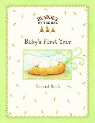 Bunnies by the Bay Baby Record Book by