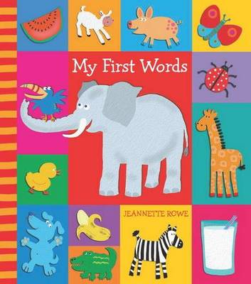 My First Words with Baby Boo by Jeanette Rowe