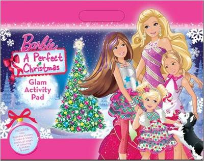 Barbie a Perfect Christmas Holiday Activity Pad by Mattel
