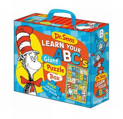 Dr Seuss Cat in Hat Learn Your ABC's Floor Puzzle by Five Mile Press The