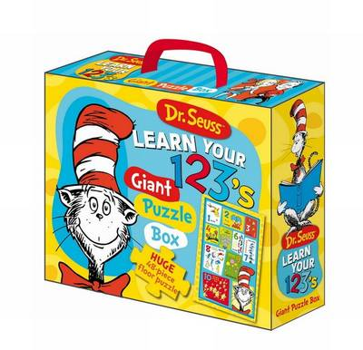 Dr Seuss Cat in Hat Learn Your 123's Floor Puzzle by Five Mile Press The