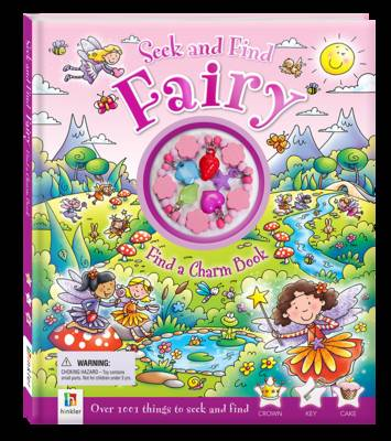 Seek and Find Fairy Find a Charm Book by