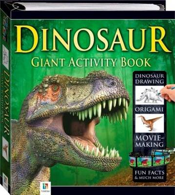 Dinosaur Giant Activity Book by Hinkler Books PTY Ltd