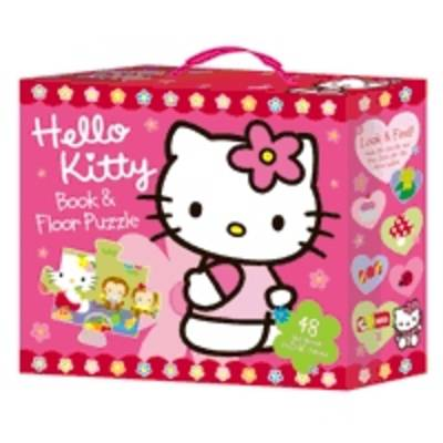 Hello Kitty Book and Floor Puzzle by