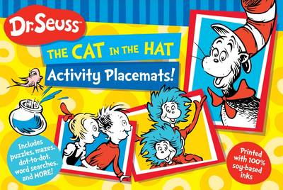 Dr Seuss The Cat in the Hat Activity Placemat by