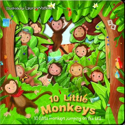 Ten Little Monkeys by Laura Watkins