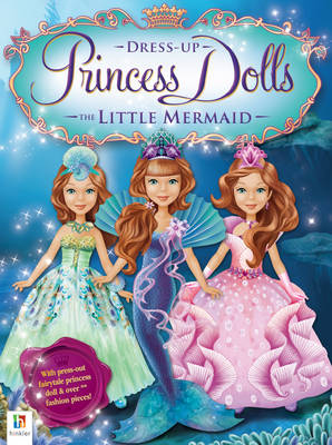 Little Mermaid Princess Dress Up Dolls by