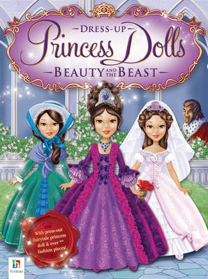 Beauty and the Beast Princess Dress Up Dolls by