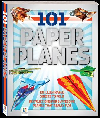 101 Paper Planes to Fly Counterpack 12 2 by