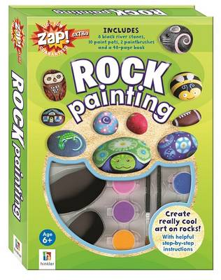 Zap! Extra Rock Painting by