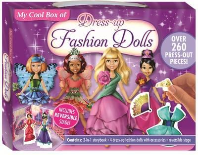 My Cool Box of Dress-Up Fashion Dolls by
