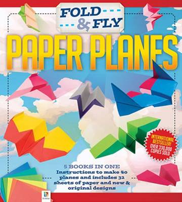 Fold and Fly Paper Planes by Hinkler