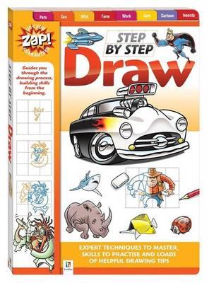 Zap! Step By Step Draw by
