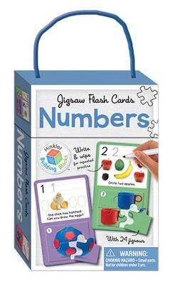 Numbers Building Blocks - Jigsaw Flash Cards by