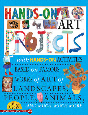 Hands on! Art Projects by Sally Hewitt, Jonas Bell