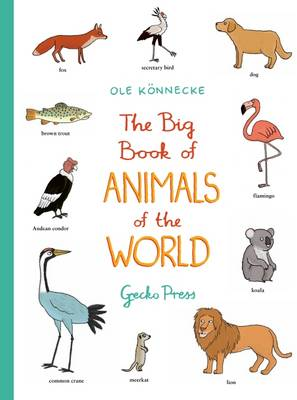 Big Book of Animals of the World by Ole Konnecke