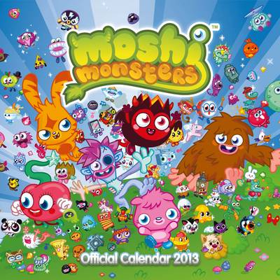 Official Moshi Monsters 2013 Calendar by