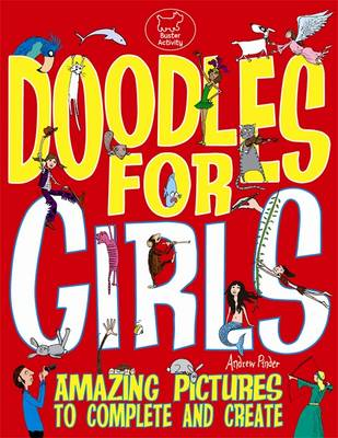 Doodles for Girls by Andrew Pinder