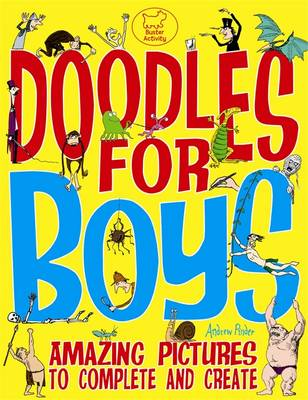 Doodles for Boys by Andrew Pinder