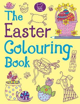 The Easter Colouring Book by Jessie Eckel