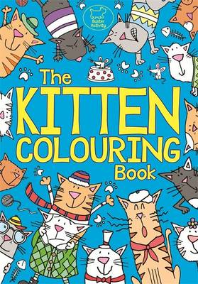 The Kitten Colouring Book by Kimberley Scott