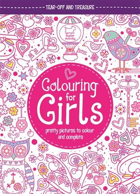 Colouring for Girls Pretty Pictures to Colour and Complete by Jessie Eckel