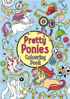 Pretty Ponies Colouring Book by Ann Kronheimer