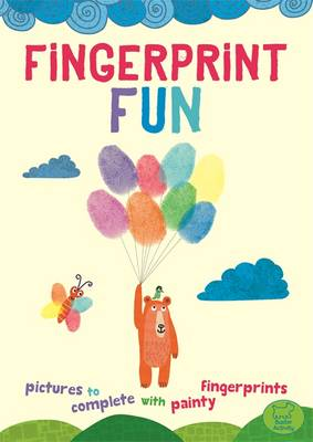 Fingerprint Fun Add Painty Prints by Jorge Martin