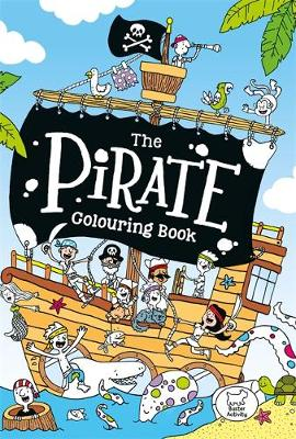 The Pirate Colouring Book by Jake McDonald
