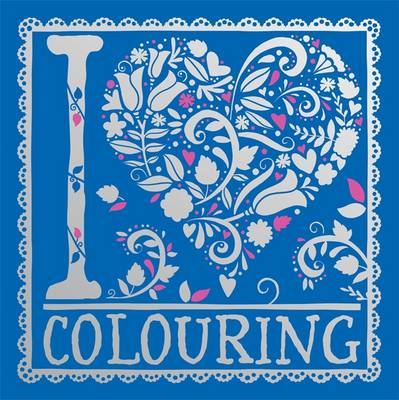 I Heart Colouring Pretty Pocket Colouring by Felicity French