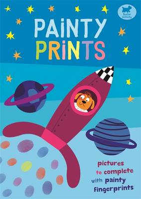 Painty Prints Pictures to Complete with Painty Fingerprints by Jorge Martin