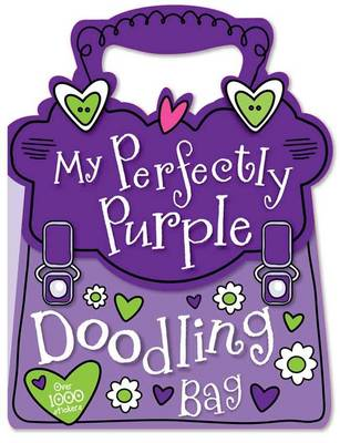 My Pertectly Purple Doodling Bag by Gabrielle Mercer